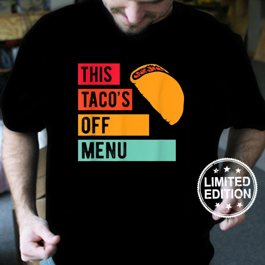 Funny This Taco's Offu Mexican Food Taco Shirt Masswerks Store