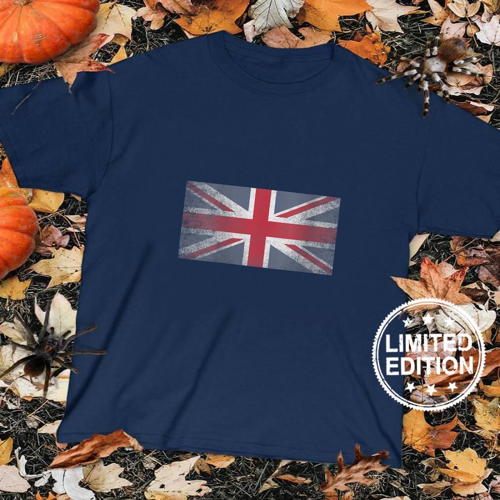 Womens England UK Union Jack Flag Pride Country Home Nation Shirt sweater